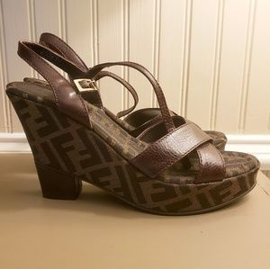 208af7cd56271 Fendi Wedges for Women